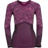 Odlo Blackcomb Evolution Ondergoed bovenlijf Dames roze/violet
